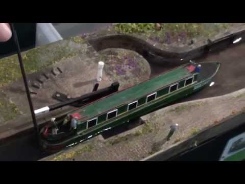 Hirstwood Lock 19 - 3mm scale canal.