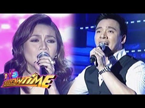 It's Showtime: Kyla & Erik Santos sing their hit songs
