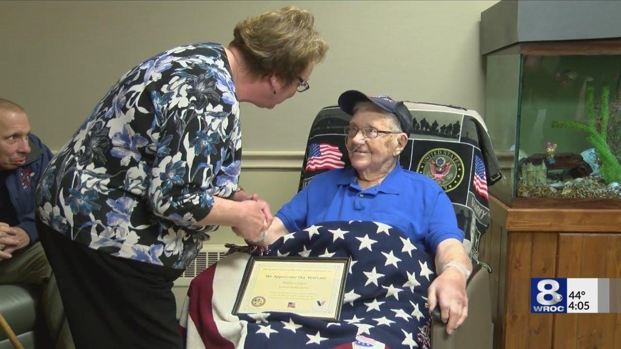 Highland Hospital honors 'Battle of the Bulge' veteran