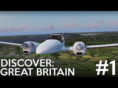 [P3D] Discover: Great Britain - Episode 1 : Down The Menai Strait