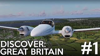 [P3D] Discover: Great Britain - Episode 1 : Down the Menai Strait