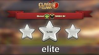 Clash of Clans : ObiRal vs BABA BC (#elite) Klan Savaşları