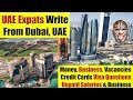 UAE Expats Write About UAE, Business, Market, Jobs & Challenges