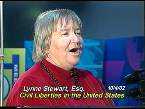 Lynne Stewart on Civil Liberties 10 04 2002