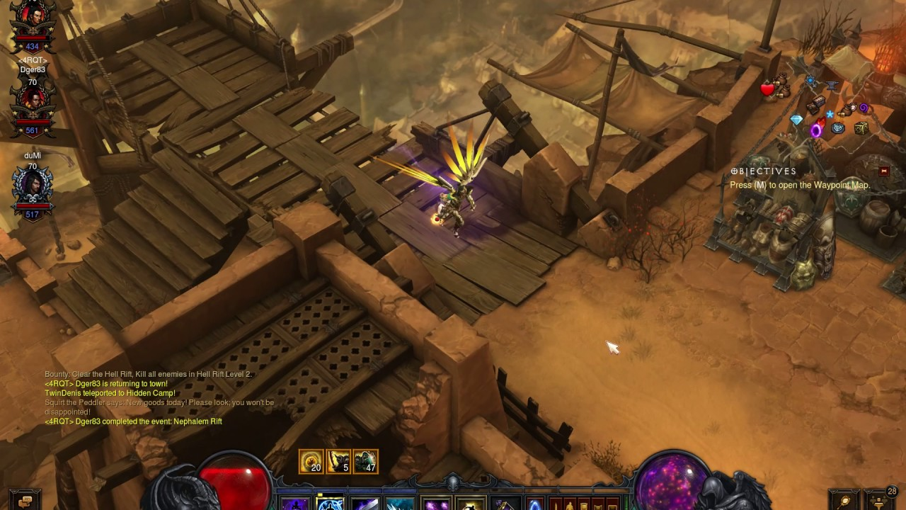 Odd Diablo 3 Lag/freeze/stutter (Better Quality)