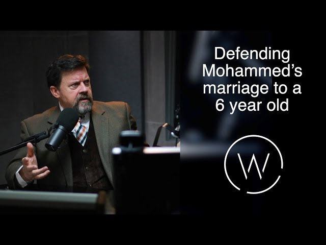 Defending Mohammed's marriage to a 6 year old.