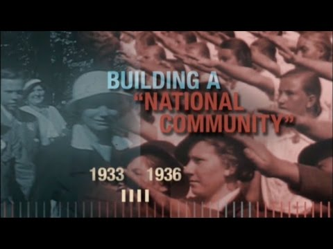 The Path to Nazi Genocide, Chapter 2/4: Building a National Community, 1933–1936
