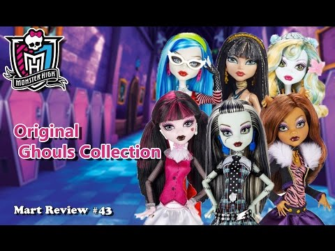 Original Ghouls Collection (Сет базовых 6 кукол) Monster High / Photo-Review