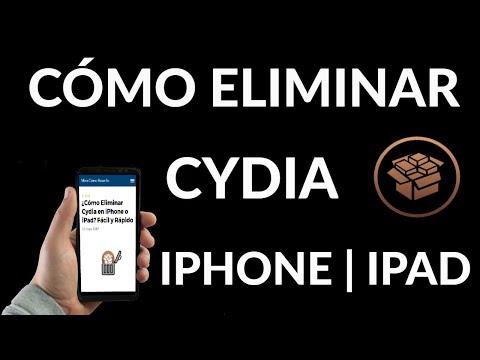 Cómo Eliminar Cydia en iPhone o iPad