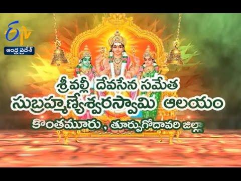 Teerthayatra - Sri Valli Devasena Sametha Subramanya Swamy Temple - 29th June 2016 - తీర్థయాత్ర -