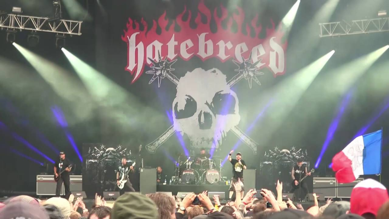 Hatebreed - Born to Bleed, Fighting to Succeed (Hellfest