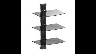 NEW Design AV Component Wall Mount - |Texonic Model DVX703|