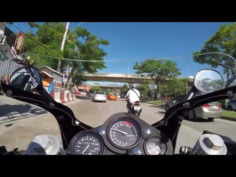 Ride on NSR150 SP to Khao San Road