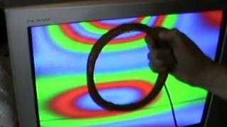 видео Как размагнитить телевизор?