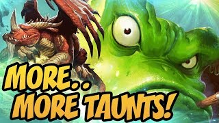Hearthstone: More..More Taunts!