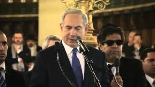 Discours de Benjamin Netanyahu Synagogue Victoire 11 janvier 2015