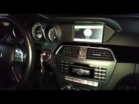 central multimidia mercedes c180 /c200 2012-2013 - youtube