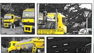 LEAN MEAN GRITTING MACHINES - keeping roads and pavements safe in winter