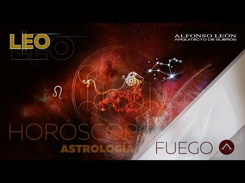 LEO - HORÓSCOPO SEMANAL - 15 AL 21 DE MAYO - ALFONSO LEÓN ARQUITECTO DE SUEÑOS