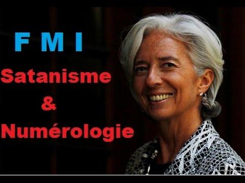 FMI : Satanisme et Numérologie par Christine Lagarde ( le chiffre 7)