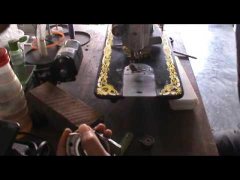 REPAIR A SEWING MACHINE THREAD JAMMED PROBLEM - MEMPERBAIKI MESIN JAHIT MASALAH BENANG TERSANGKUT