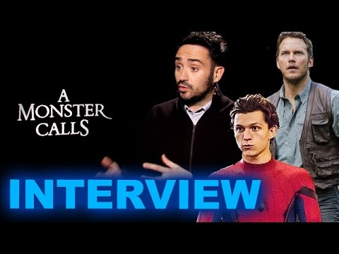 JA Bayona Interview! A Monster Calls, Jurassic World 2, Tom Holland Spider-Man - Beyond The Trailer