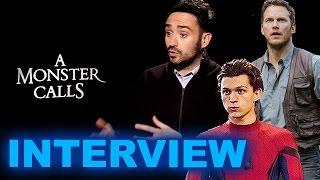 ja bayona interview a monster calls jurassic world 2 tom holland spider man beyond the trailer