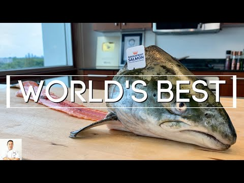 how-to-fillet-world's-highest-grade-farmed-salmon-and-use-every-part-|-bakkafrost-salmon