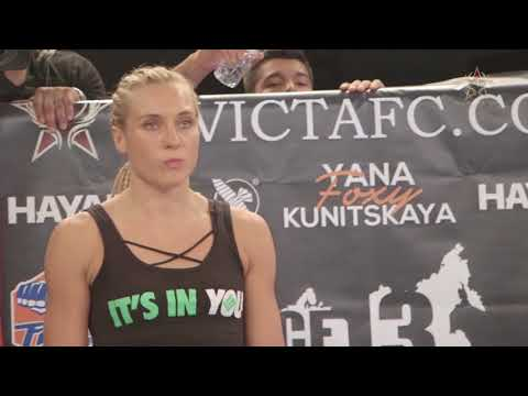 Invicta FC 25 Yana Kunitskaya Post-Fight Interview