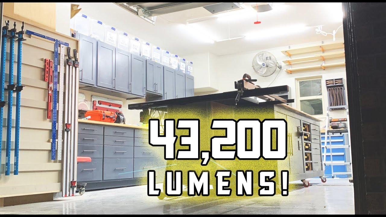 easiest diy garage led lighting upgrade