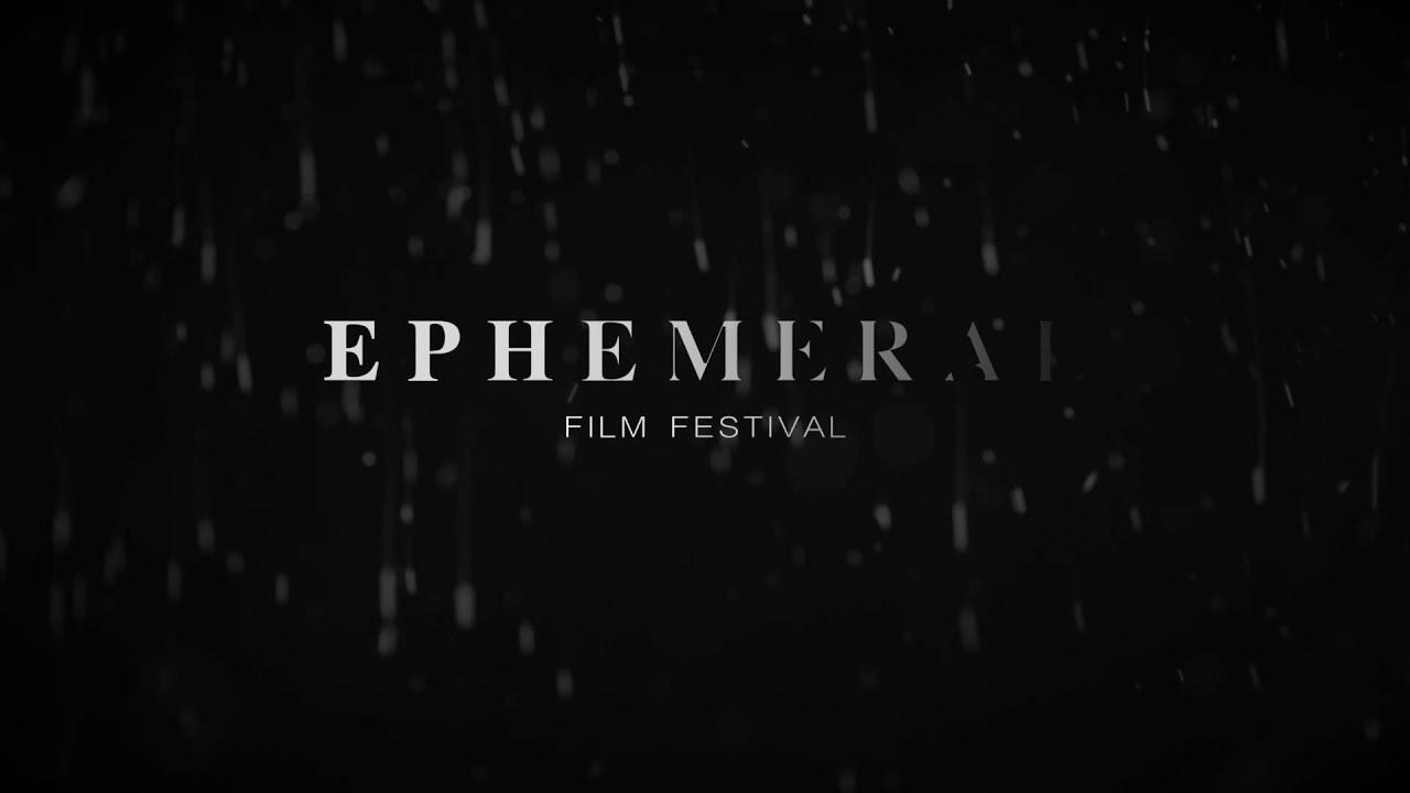 Ephemeral Film Fest Bumper Animation