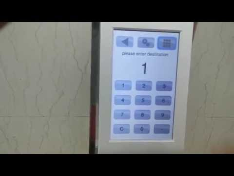 Schindler High Speed Elevator(With PORT) at Yeongpung Building Seoul Korea