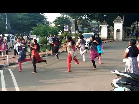 Flashmob NSS Volunteers@Kowdiar Trivandrum