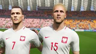 PES 2018 - Belgium v Poland Gameplay (60fps)