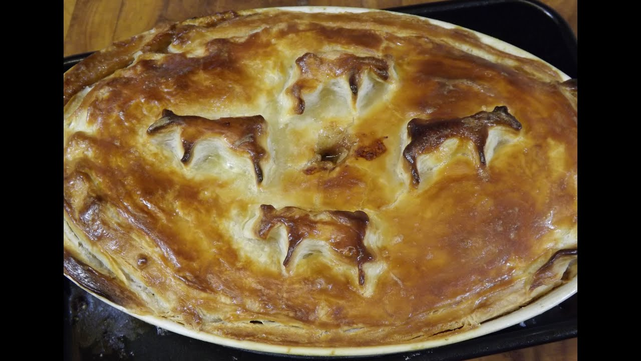 Home-made Steak And Kidney Pie. TheScottReaProject - YouTube