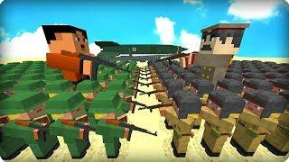 Вторая Мировая Война [ДЕНЬ 4] Call of duty в Майнкрафт! Война в Майнкрафт! - (Minecraft - Сериал)