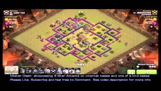 3 Star TH8 GoWiPe - Kyoukai base, clan war
