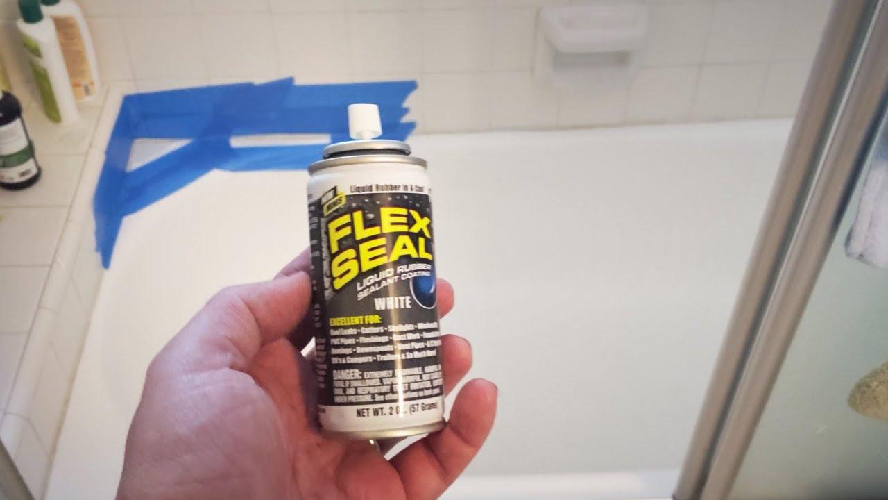 5 Flex Seal Spray To Fix A Bathtub