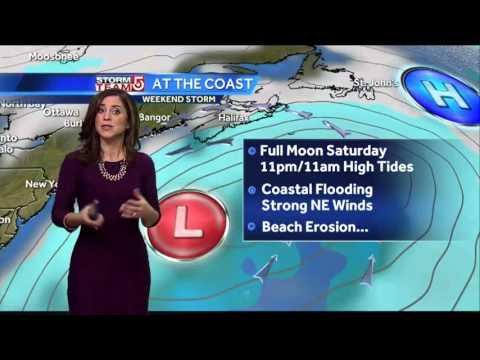 Cindy's Friday Boston-area weather forecast