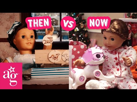 The Perfect Present | Then Vs Now Stop Motion | @American Girl