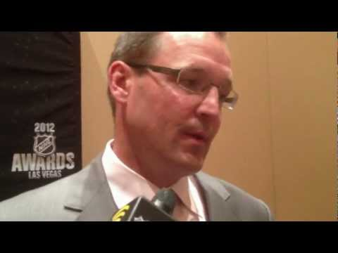 2012 NHL Awards - Impromptu Dan Blysma Press Conference