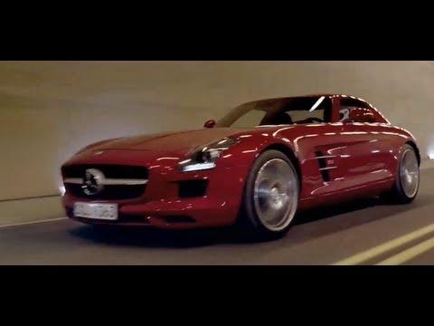 Mercedes SLS AMG 2013 Classic TV Commercial Carjam TV HD Car TV Show
