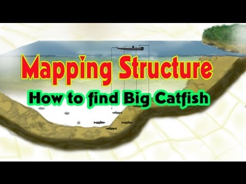 How To Find BIG Catfish: Mapping Structure