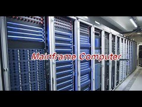 Mainframe Computer मेनफ़्रेम कंप्यूटर शार्ट ...