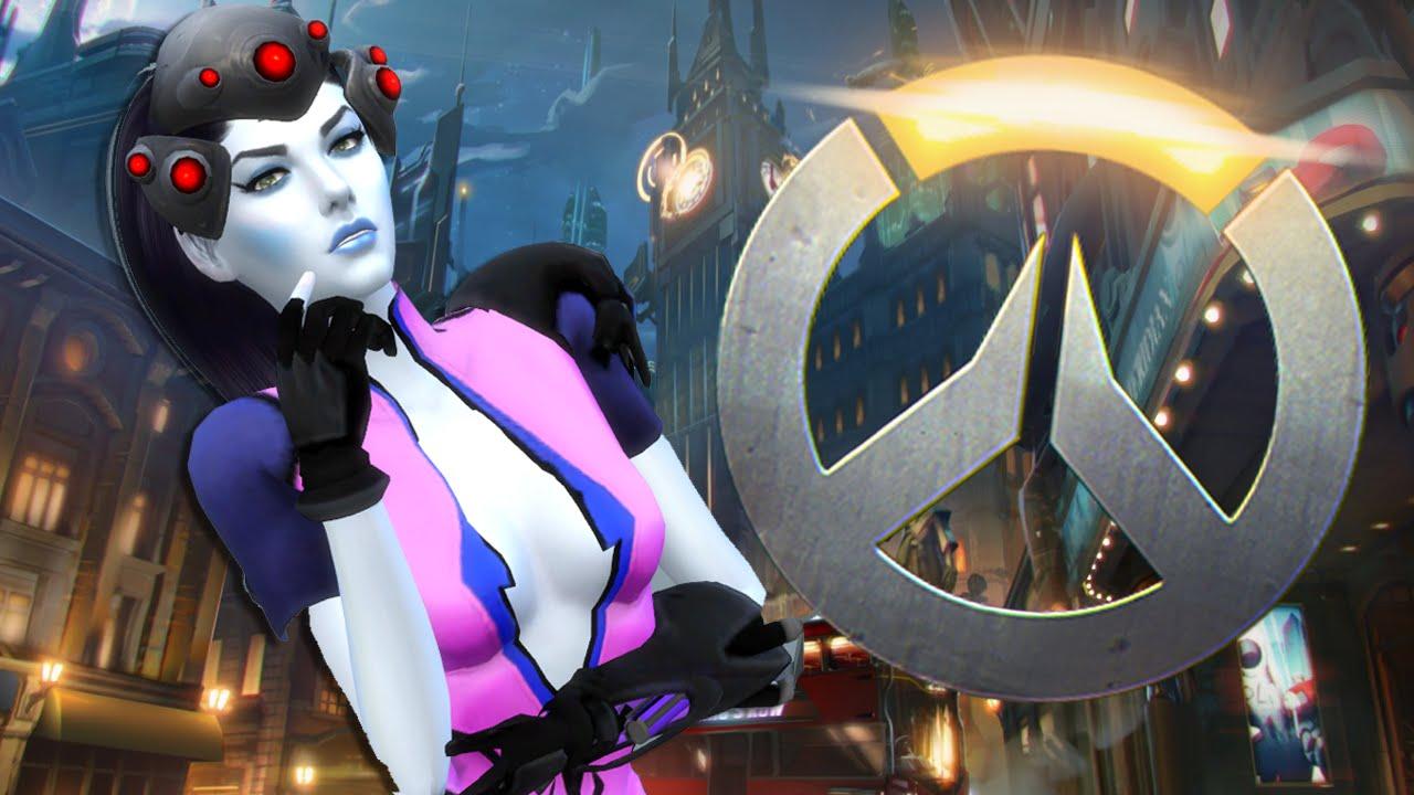 Overwatch Sims 4 CAS // Widowmaker