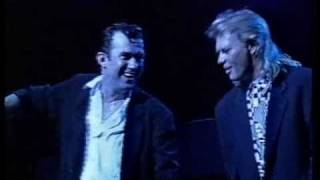 Jimmy Barnes & John Farnham - When Something Is Wrong With My Baby live 1991