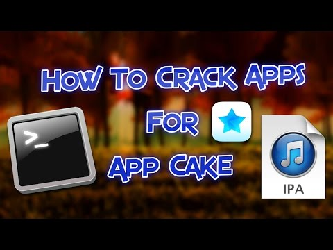 HOW TO CRACK APPS AND SUBMIT THEM TO APP CAKE IOS 9!!!