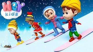 Witaj Zimo Sroga! ☃️ Kolędy i piosenki świąteczne dla dzieci - HeyKids