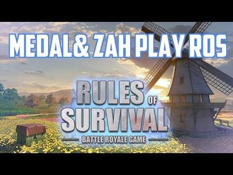 CHALLENGES w/ Medal & Zah - Rules of Survival Livestream