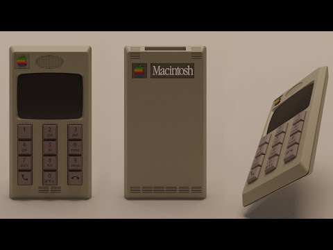 Historical Fantasy for Industrial Designers: What if Apple Had Designed the iPhone in the '80s and '90s?